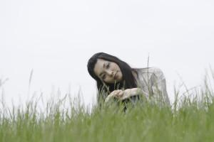 草原で考える